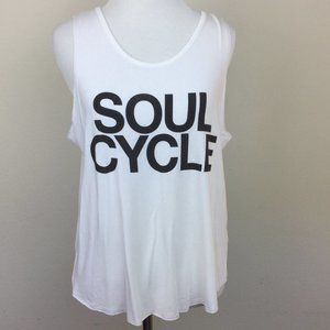 Soul Cycle Open Back Tank Top m/l NWT